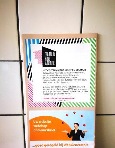 Advertentie Cultuurhuis Abcoude